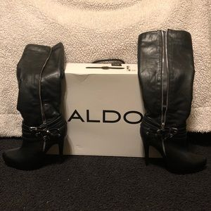 ALDO Knee High Stiletto Boots